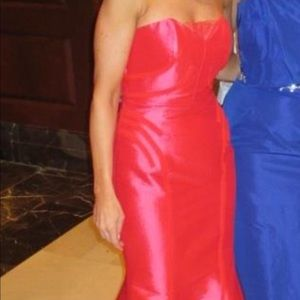 Beautiful cinnamon red evening gown size 2